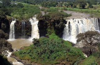Blue Nile Falls Rainbow